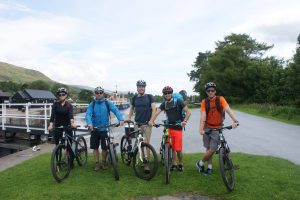 Active - Great Glen way - Biking