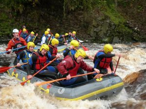 Active Rafting - Findhorn River