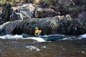 BCU canoe leader training